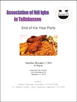 2013 ANIT End of Year Party